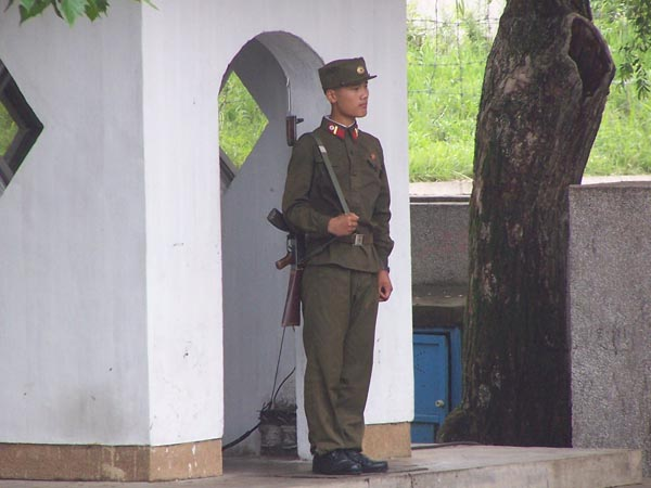 It is hard to know what a modern North Korean Soldier is like