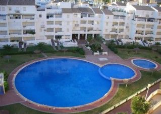 The apartment overlooks the pool complex, which you will have access to.