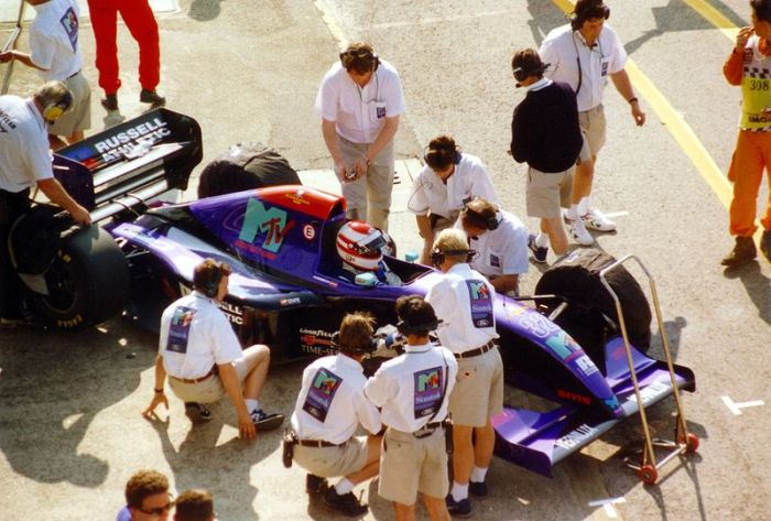 Roland Ratzenberger in the ill-fated Simtek 941